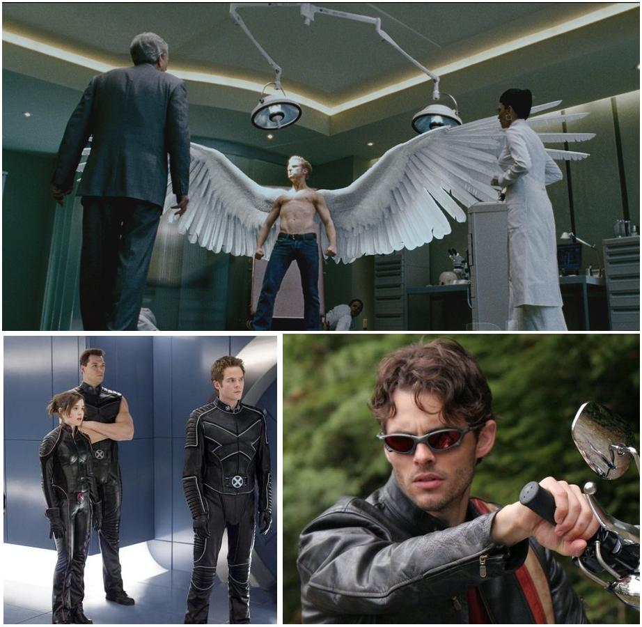 Men The Last Stand Angel Scene Angels wings are awesome X Men Angel Wings Scene