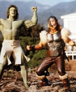 Hulk and Thor just saw their production photos
