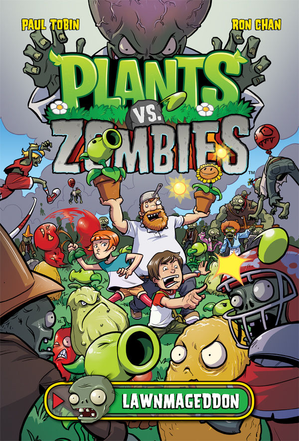 Plants Vs Zombies HC cover