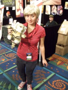 I'm surprised at the skill that Hobbes cosplayer went to, just nails it.