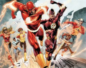 Wally West and company NewSuits