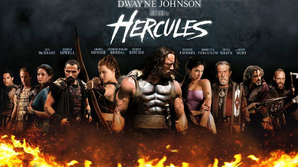 Amazoncom Hercules 2014 Bluray Dwayne Johnson Ian