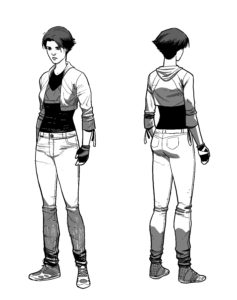 Ashlar Full Body Model Sheet