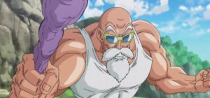 First time Master Roshi was awesome in YEARS!