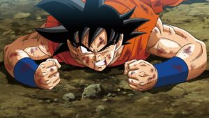 Goku's down! Tag in Vegeta!