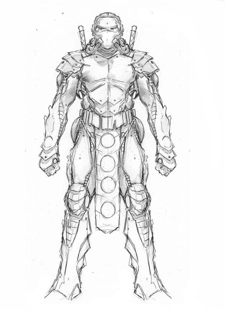 NINJAK_010_CHARACTER DESIGN-NINJAK (DEADSIDE ARMOR) BY TREVOR HAIRSINE