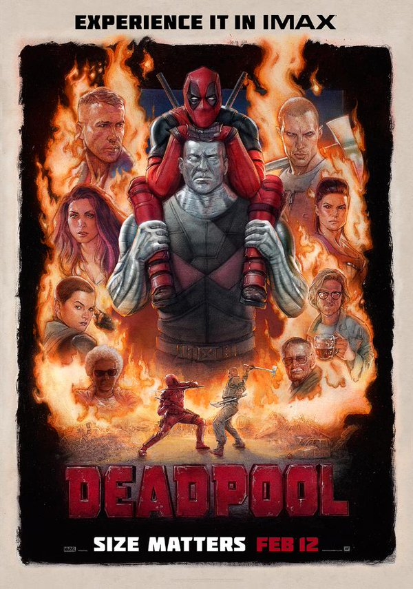 deadpoolIMAX poster