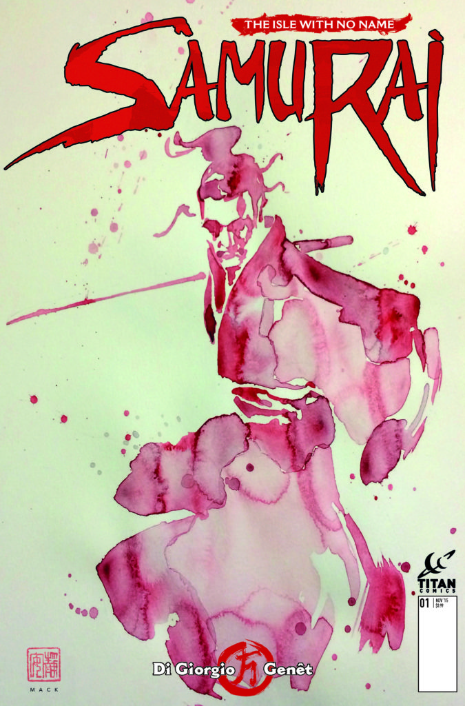 Samurai Comic_1_CoverB_David Mack