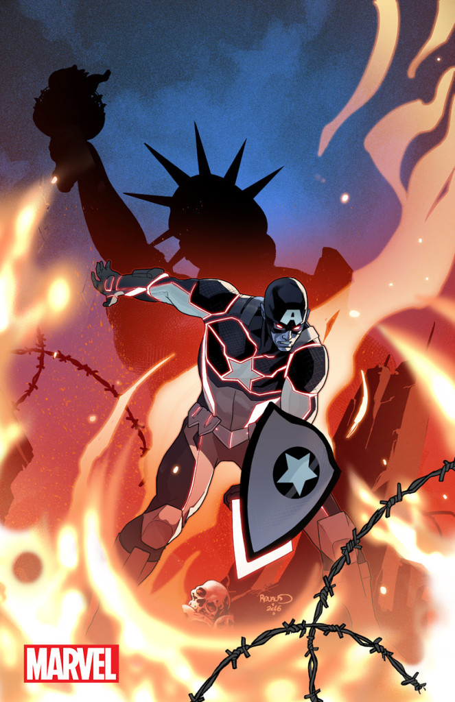 Captain America: Steve Rogers #1 by Paul Renaud