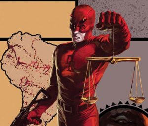 Daredevil scales of justice