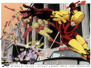 Yellow Daredevil Tim Sale