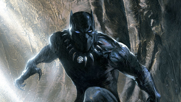 Black Panther T'Challa Header Image