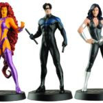Starfire, Nightwing, Donna Troy lead figures