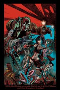 Hack Slash Issue #3 Cover Illustration