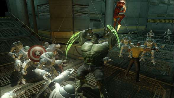 Marvel Ultimate Alliance 2 Fusion - SDCC 2--screenshot_viewer_medium