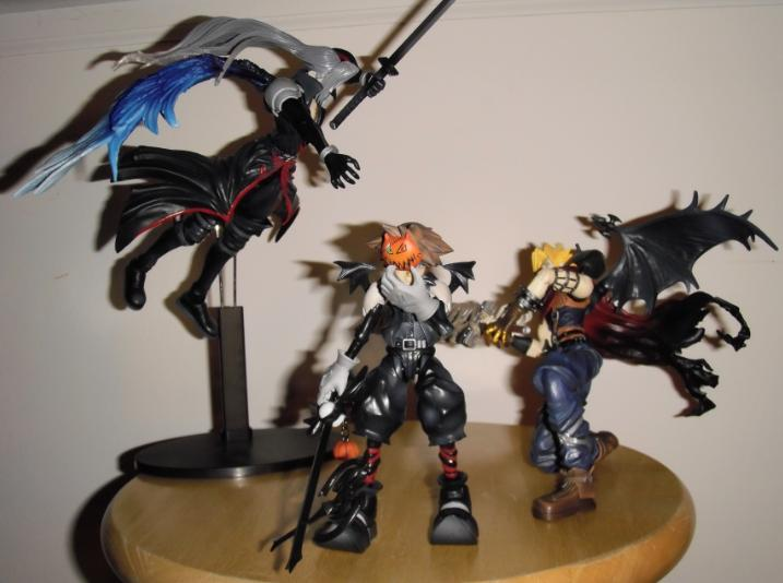 Sora hates it when mommy and daddy fight....