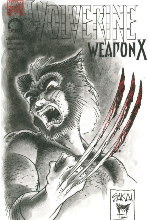Yosagi Yojimbo's creator, Stan Sakai does his cover.