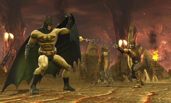 Batman in Mortal Kombat vs DC Universe