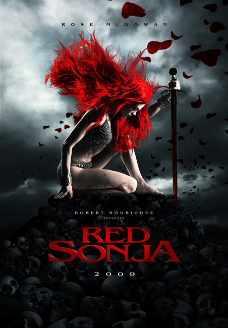 Teaser Poster for the Red Sonja Remake