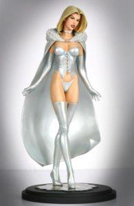 "Bowen Designs White Queen. 12"" tall"