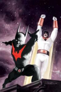 Space Ghost/ Batman Beyond by JK Woodward