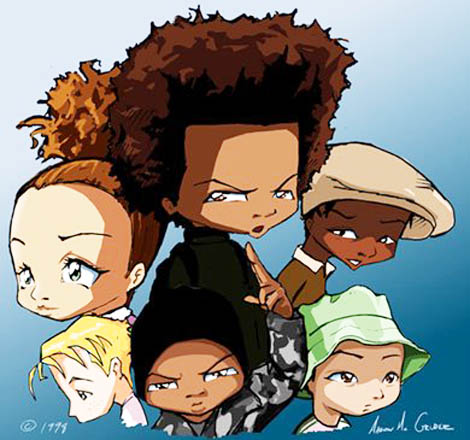 "the reaffirmed stereotypes in the boondocks Changing the race: racial politics and the racial politics and the election of watcher that seemed as if it were scripted for ""the boondocks."