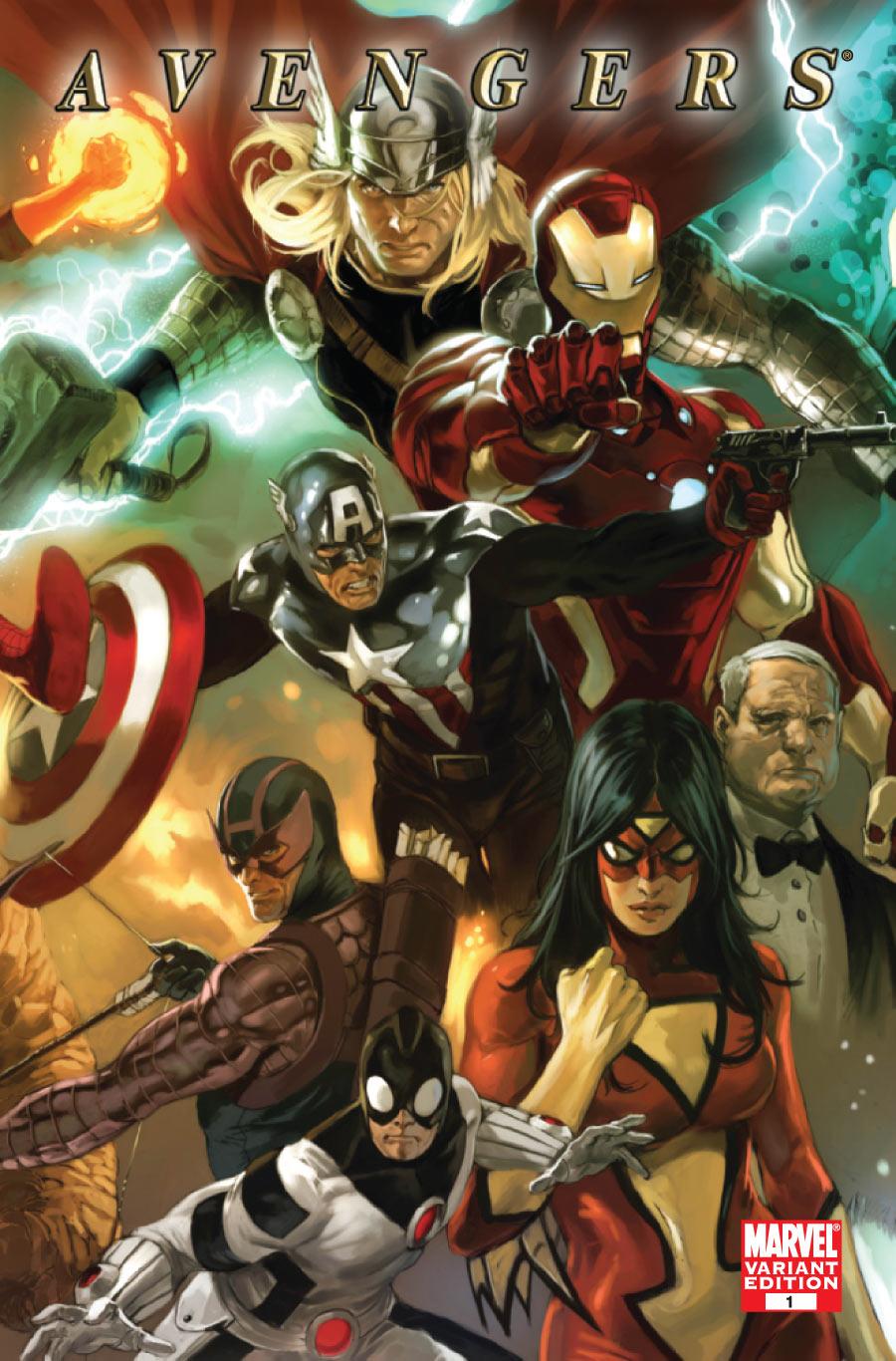Marvel Reviews: Avengers #1   ComicAttack