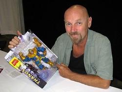 Starlin & Thanos action figure