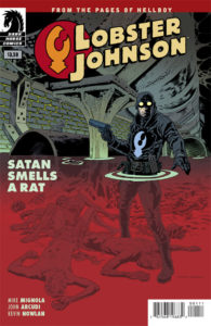 Lobster Johnson Satan Smells A Rat Cover