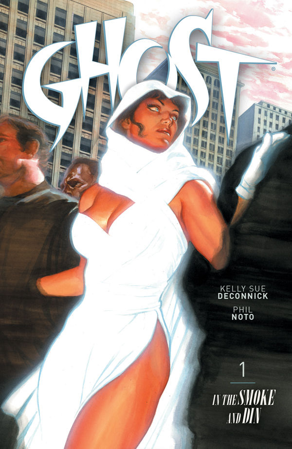 Ghost Vol 1 TPB cover