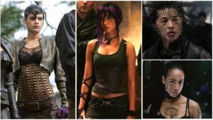 Arclight, Psylocke, Quill, & Callisto.  Wait! THAT'S Callisto!?  WTF?!  Well... at least they KINDA got Psylocke