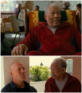 Ladies & Gentlemen: Morgan Freeman!  You're welcome.
