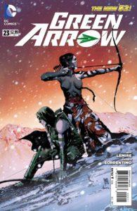 green arrow 23