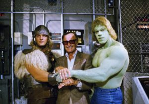 I wish this was a Stan Lee cameo but it's just a production still