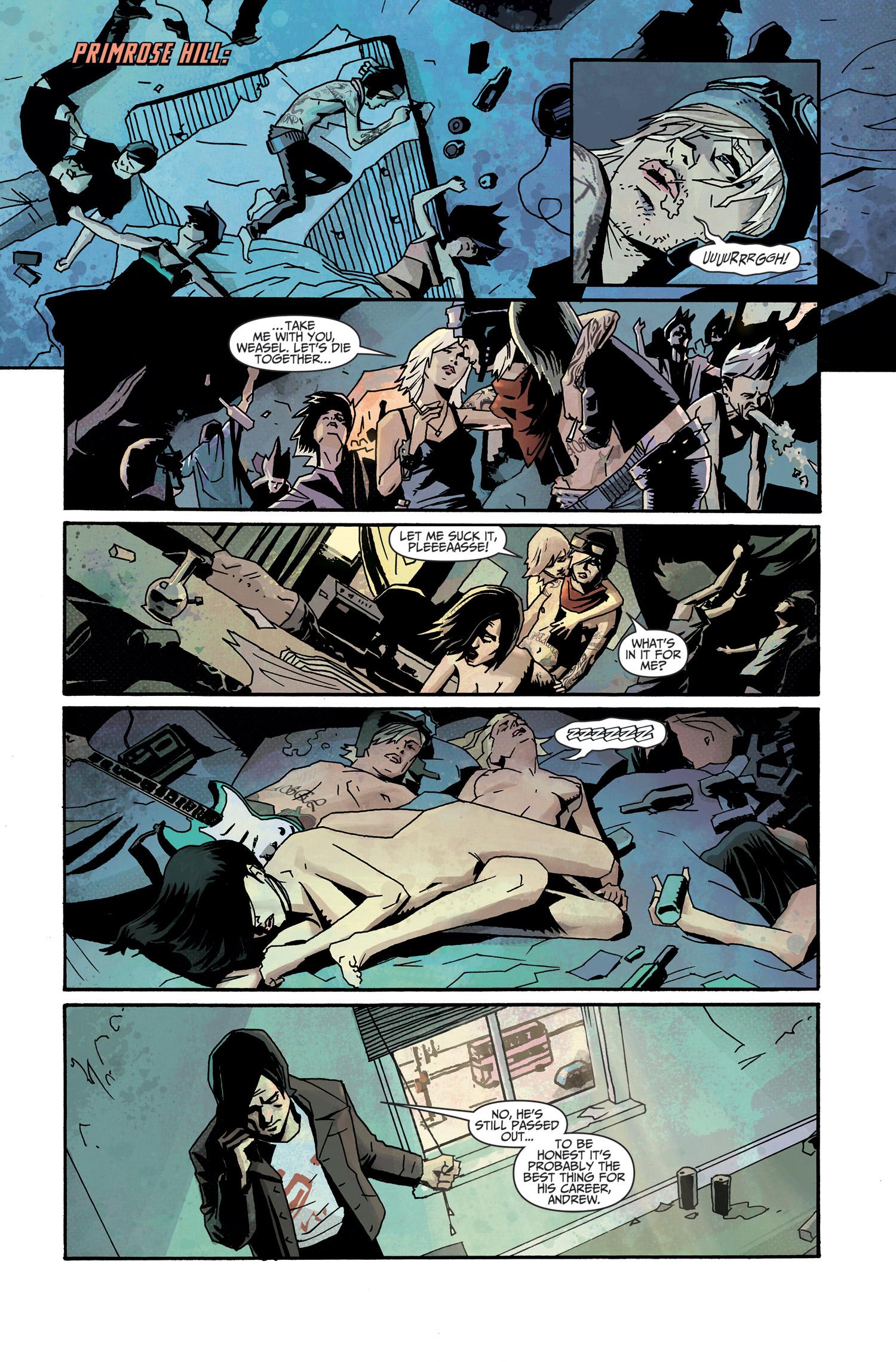 Titan Comics Previews: Death Sentence #1 (of 6) | ComicAttack