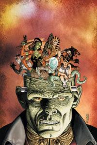 Frankenstein head of shade