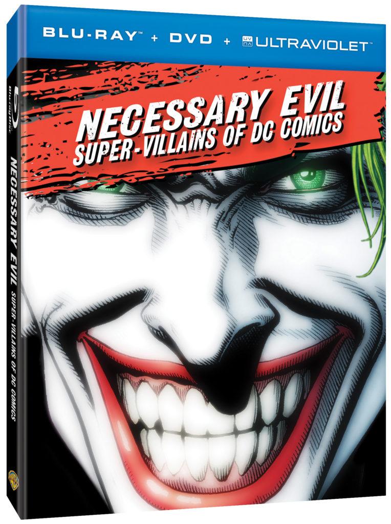 Necessary Evil-SuperVillains of DC Comicsboxart