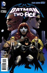 batman and two face
