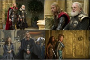 Great cast of characters and wonderful costumes bring this world to life