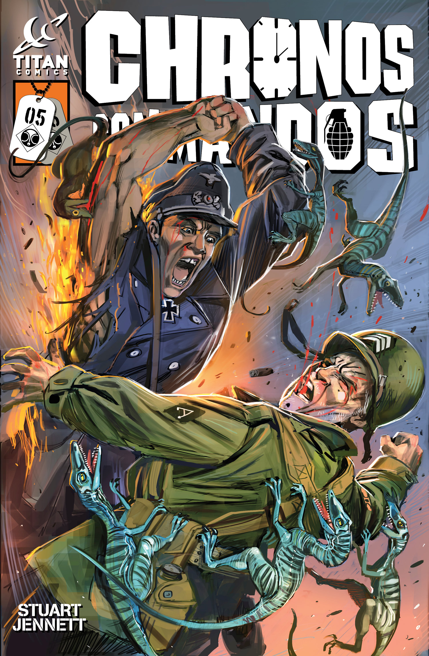 Titan Comics Previews: Chronos Commandos: Dawn Patrol #5 On Sale 11