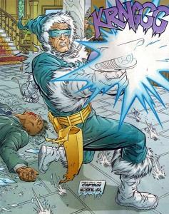 Captain Cold action pose