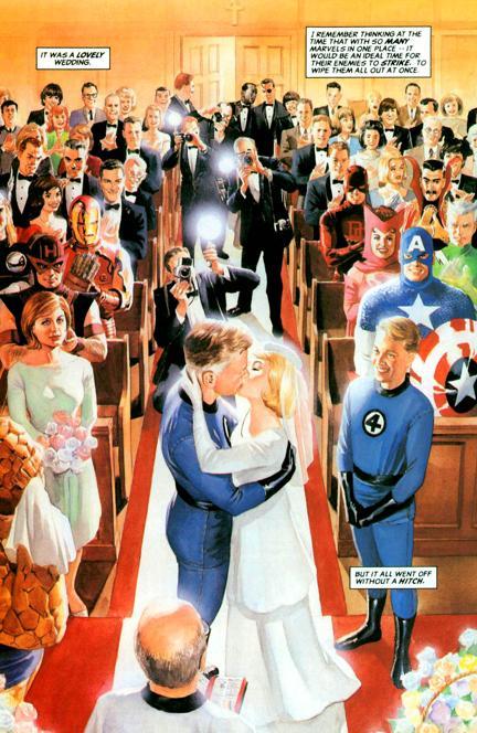 Mr+Fantastic_Invisible+Woman_Wedding
