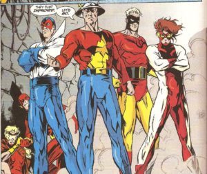 Wally West friends Flash-Vol.-2-110-1996