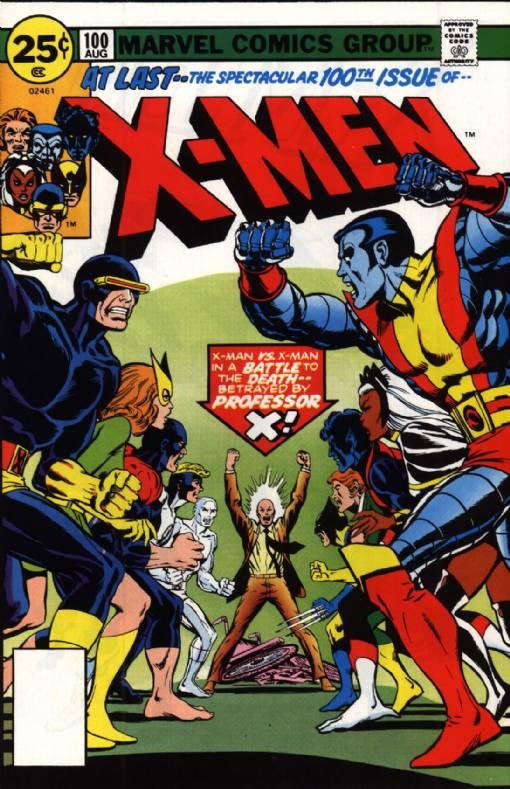 X-Men#100