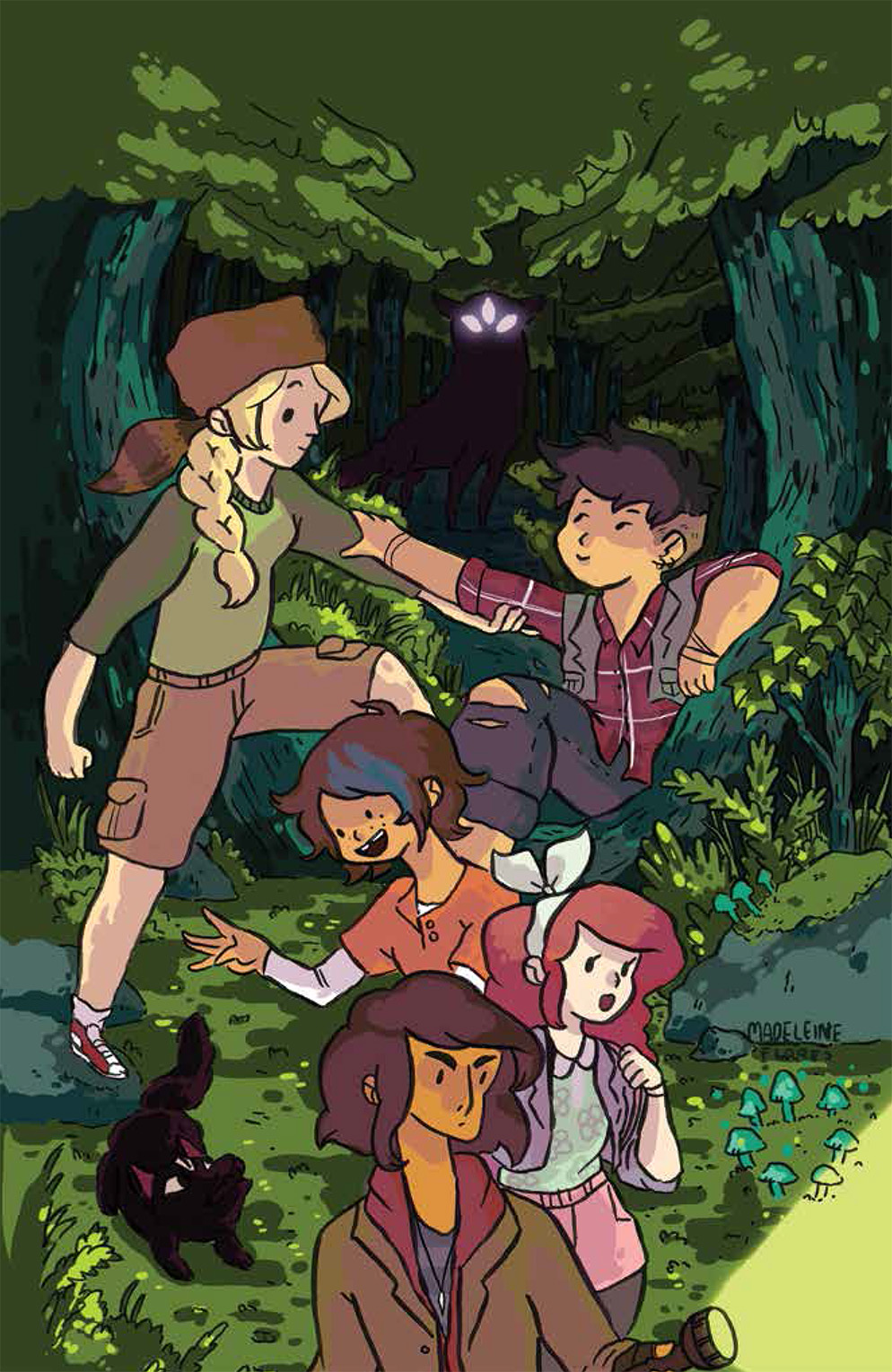 Lumberjanes Vol 2 Friendship To The Max 9781608867370 Noelle Stevenson Grace Ellis Brooke A Allen Shannon Watters S