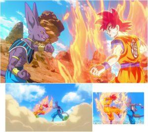 Super Saiyan God looks spectacular!