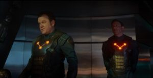The Nova Corps.  The Interpol of Space.  Or in this movie... cannon fodder
