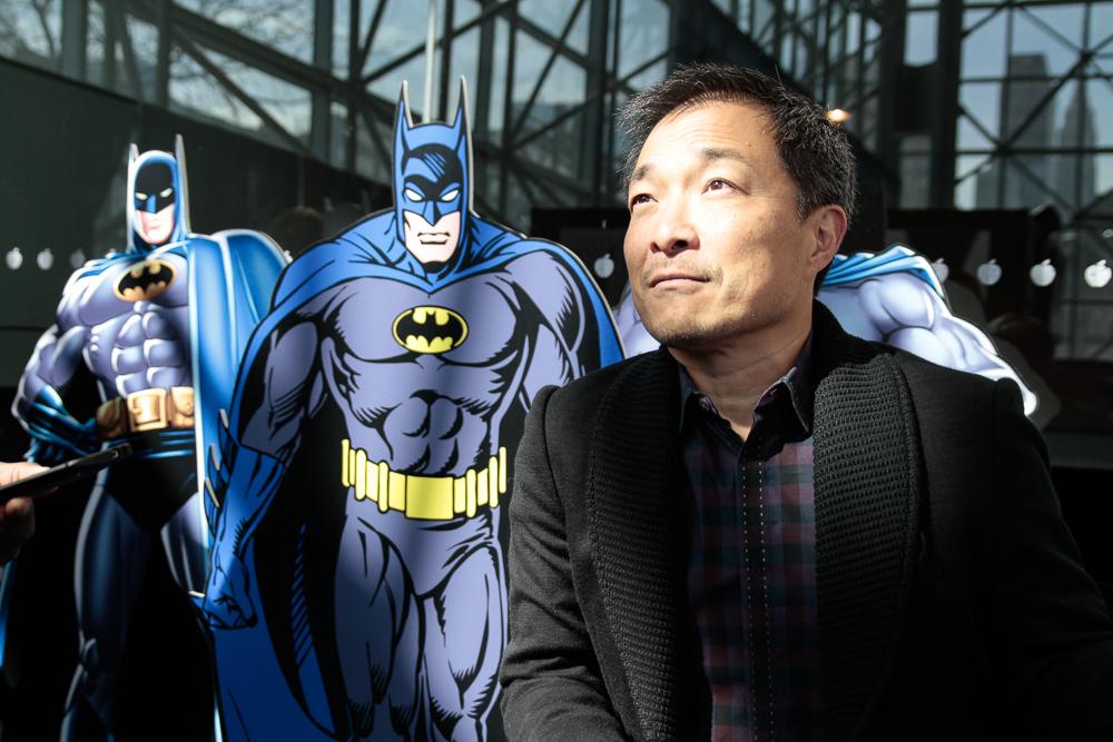Jim Lee Batman Stamp-7