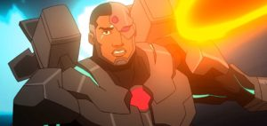 Cyborg animated movie