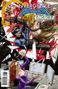 nightwing and oracle 1